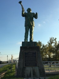 Louis D. Armstrong Statue