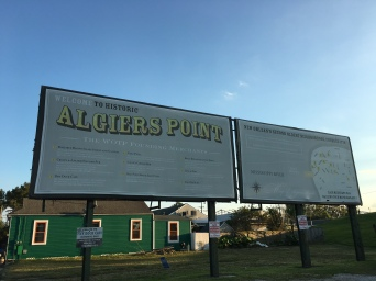 Algier's Sign and Info