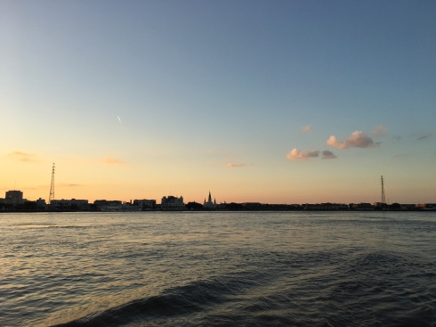 New Orleans from the Mississippi River