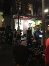 Filming in downtown NOLA