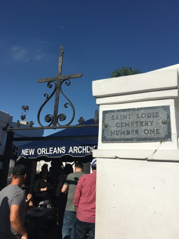Entrance to St. Louis Cemetery #1