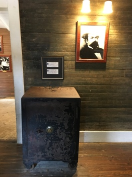 The safe that led to the death of Mr. Jack Daniels